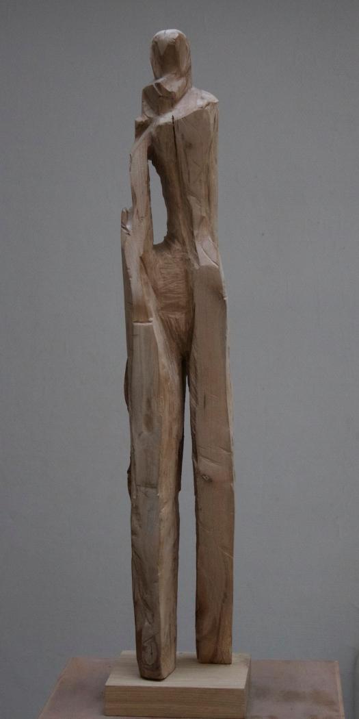 Sculpture bois P