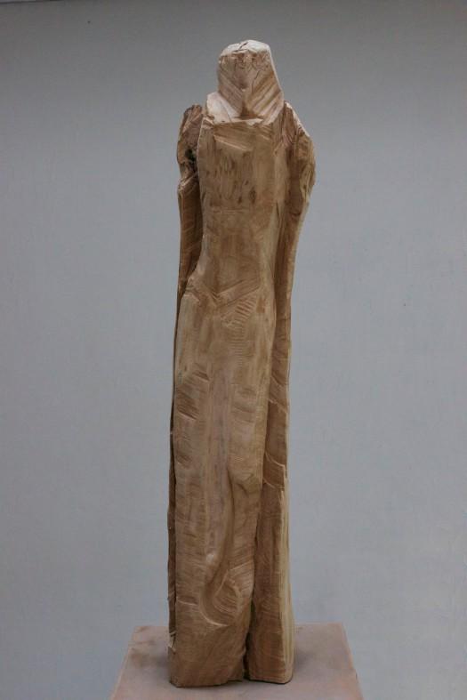 Sculpture bois retouchée M