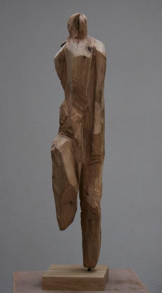 Sculpture bois U