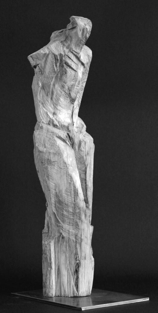 Sculpture R profil retouchée